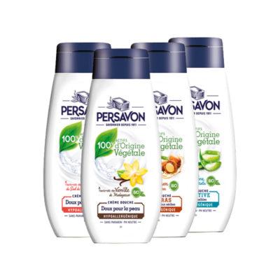 Persavon - Les produits - Crèmes de douche