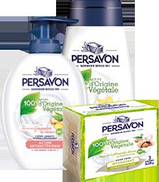 Persavon - Packshots des produits pour la famille