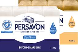 Persavon - Packshots des produits pour la maison